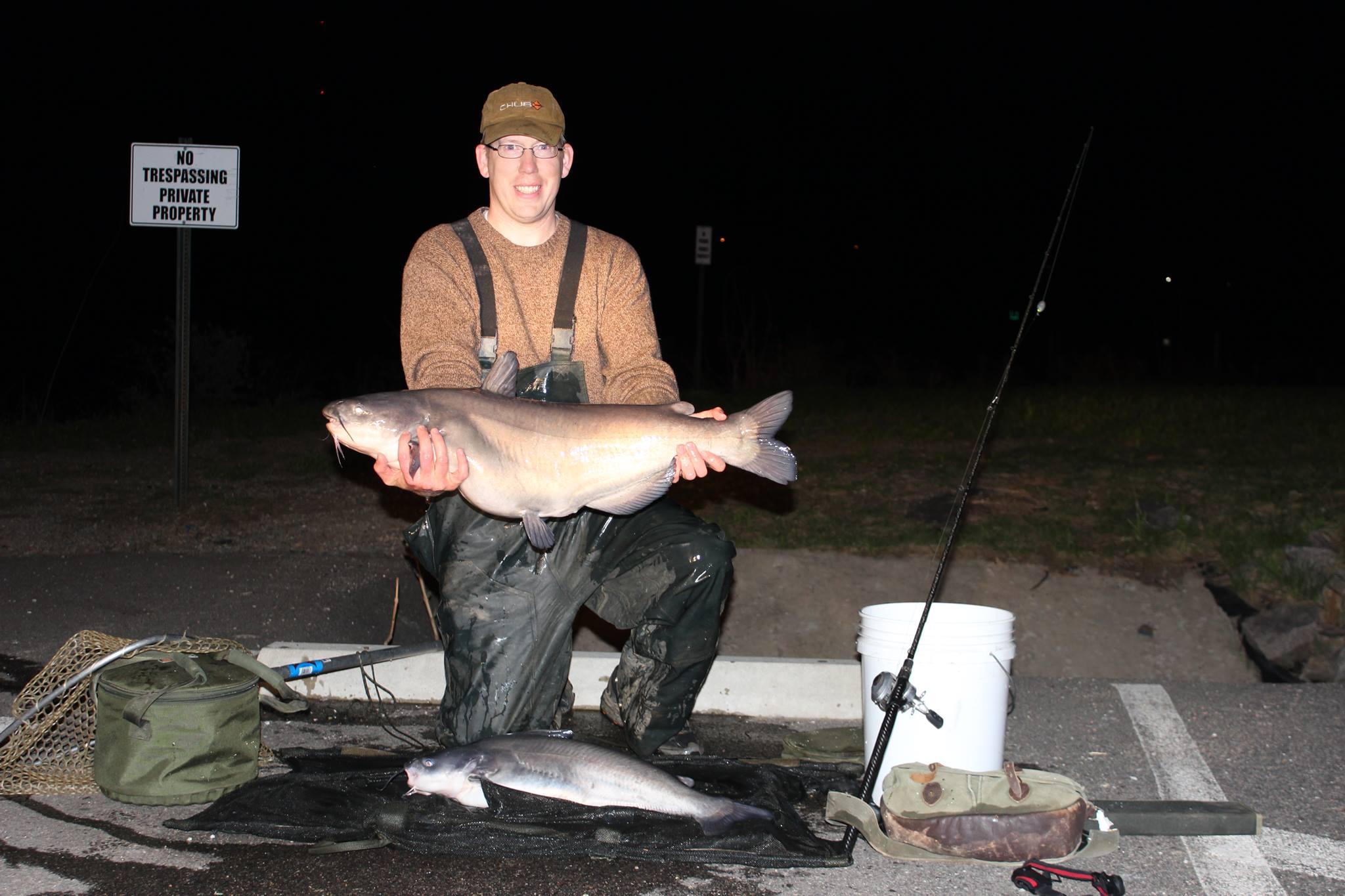 28 lb blue catfish