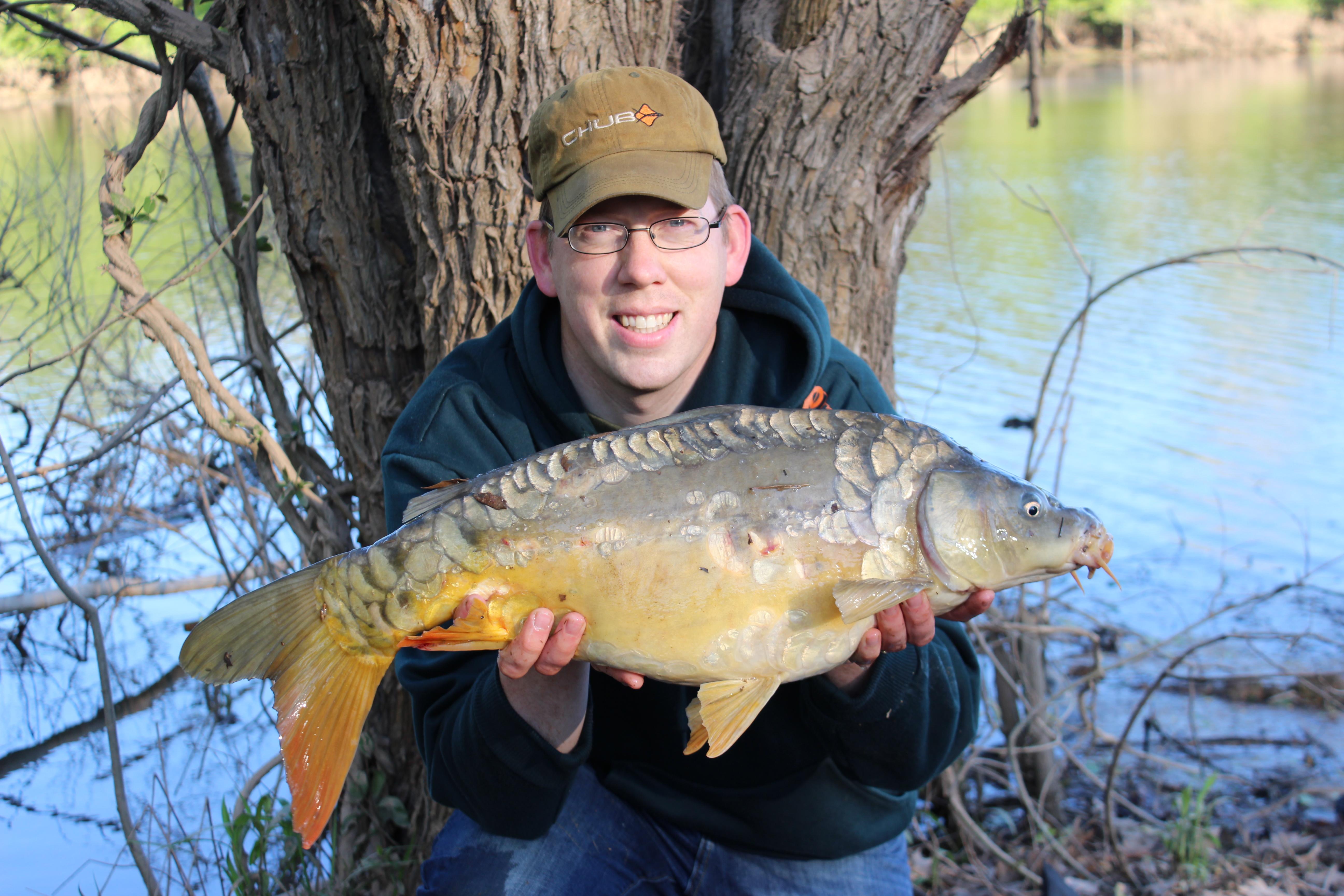 14 lb Virginia mirror carp