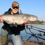 Catching blue catfish on Cured Chicken Liver